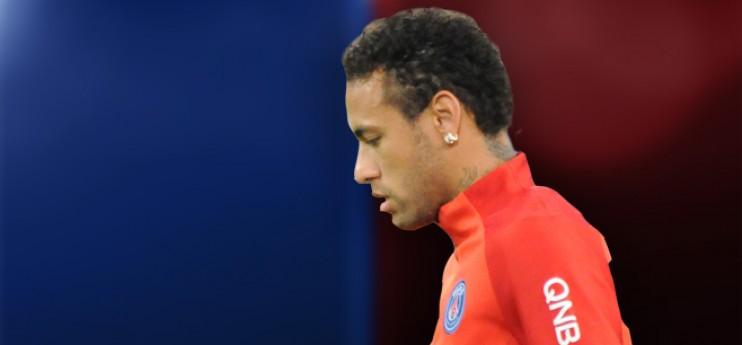 PSG : Neymar toujours mis à l'écart