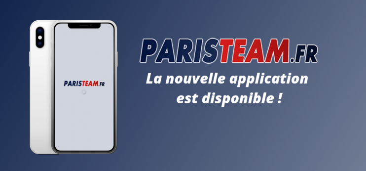 Téléchargez l'application Paristeam !