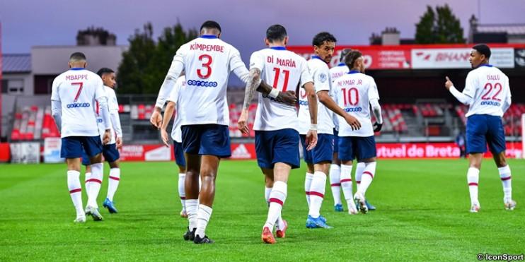 Brest 0-2 PSG : les notes des Parisiens