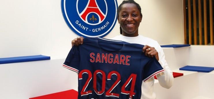 PSG : Sangare signe pro et part en prêt