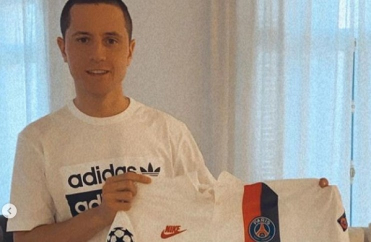 PSG : Herrera offre un maillot sur Instagram !