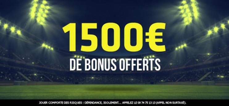 1500€ offerts pour miser sur Manchester City-PSG !