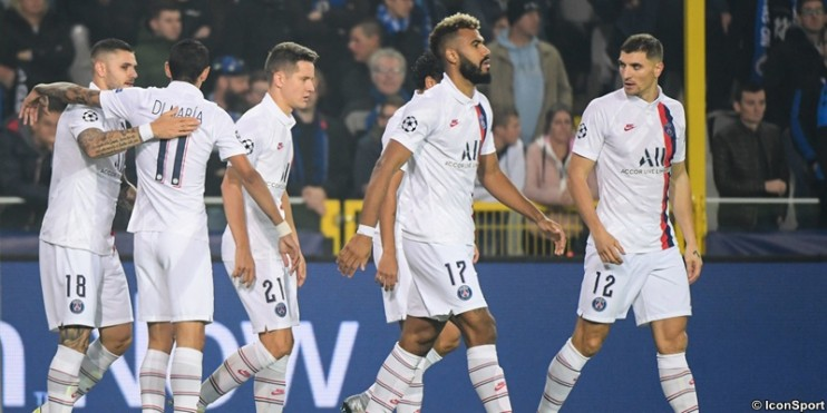 Bruges 0-5 PSG : les notes des Parisiens