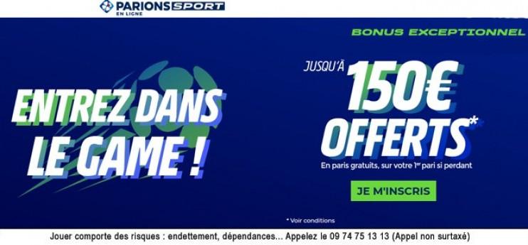 300€ à gagner sur PSG-Saint-Étienne  !