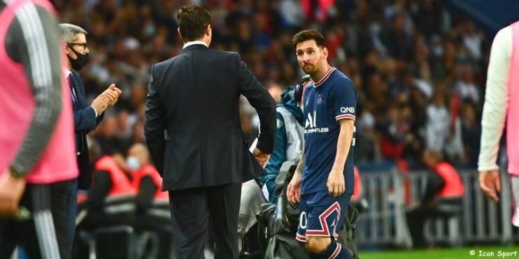 PSG : la blessure de Messi en image