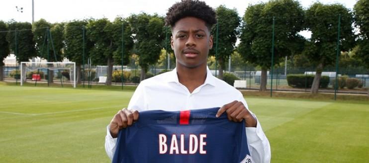 Le PSG officialise pour Baldé et annonce une 5e signature pro
