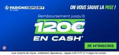 Bruges-PSG: encore 252€ à gagner avec le PSG !