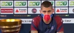 """PSG : """"Il n'y a pas de problème avec le coach"""" affirme Verratti"""