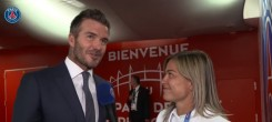 "PSG : Beckham ""ému"" par un cadeau d'Al-Khelaïfi"