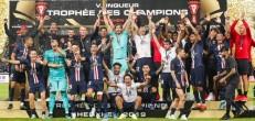 40e titre pour le PSG, le palmarès mis à jour !