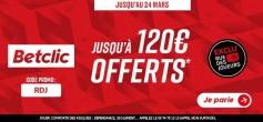 EXCLU : 120€ offerts pour parier OL-PSG !