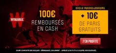 EXCLU : 110€ offerts chez Winamax pour parier PSG-Lille !