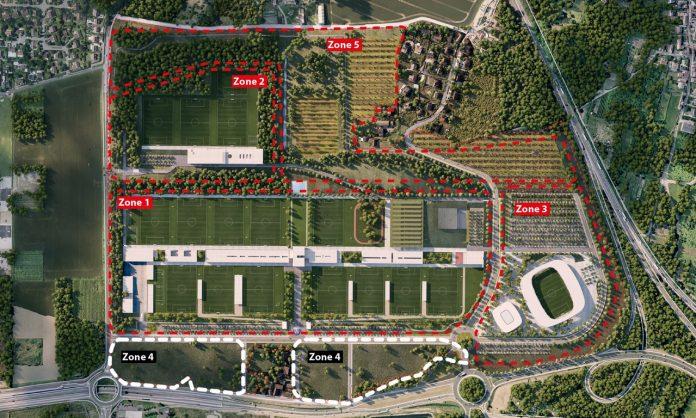 Les travaux du nouveau centre d'entraînement vont débuter — PSG